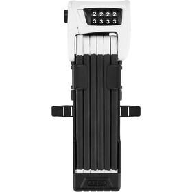 ABUS Bordo Combo 6100/90 SH Antifurto pieghevole, nero/bianco
